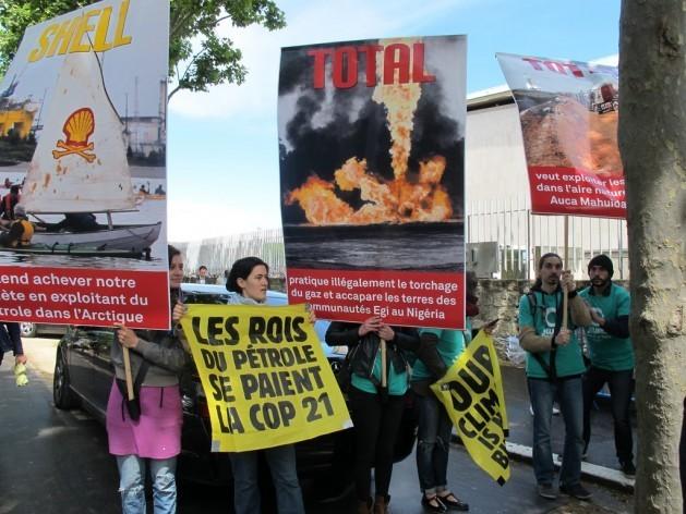 Manifestación Cambio Climático París
