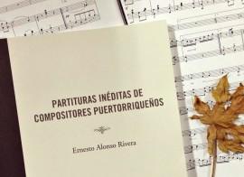 Partituras inéditas de compositores puertorriqueños