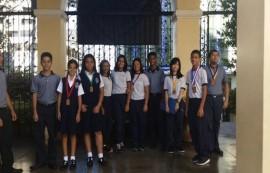 Estudiantes ganadores de The Episcopal Cathedral School