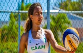 Chris Rijos es jugadora de voleibol en el equipo del RUM y es considerada uno de los valores del año de la LAI. (Resistencia Deportiva)
