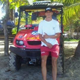 Gerson Caraballo, salvavidas de Isabela. (Suministrada)