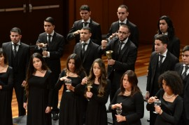 Coro de Concierto de la UPR en Arecibo. (David D. Pérez Aponte)