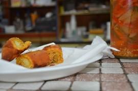 Pastelillo hecho al momento en El Yuquerí. (Paola Freire / Cidra Somos Todos)