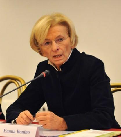 Emma Bonino, dirigente del Partido Radical, exministra de Relaciones Exteriores de Italia y excomisaria de la Comisión Europea