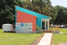 Casa EcoSolar del Recinto Universitario de Mayagüez. (Michelle Estades)
