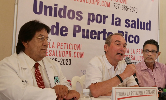Junta de Directores de la Coalición para atender la crisis de Salud en Puerto Rico. (Suministrada)