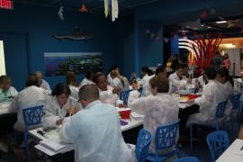 Maestros de escuelas públicas y privadas a nivel intermedio y superior participaron de los adiestramientos de biotecnología de la UPR Humacao y Amgen PR. (Suministrada)