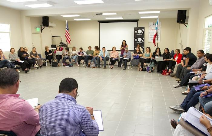 La reunión se realizó en los centros Sor Isolina Ferré. (Suministrada)