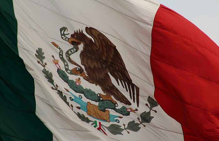 Bandera de México (Suministrada)