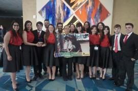 Estudiantes que componen el capítulo Enactus de la UPRRP. (Suministrada)