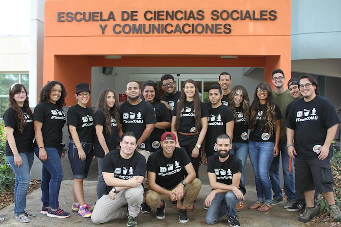 Estudiantes de la Universidad del Turabo.