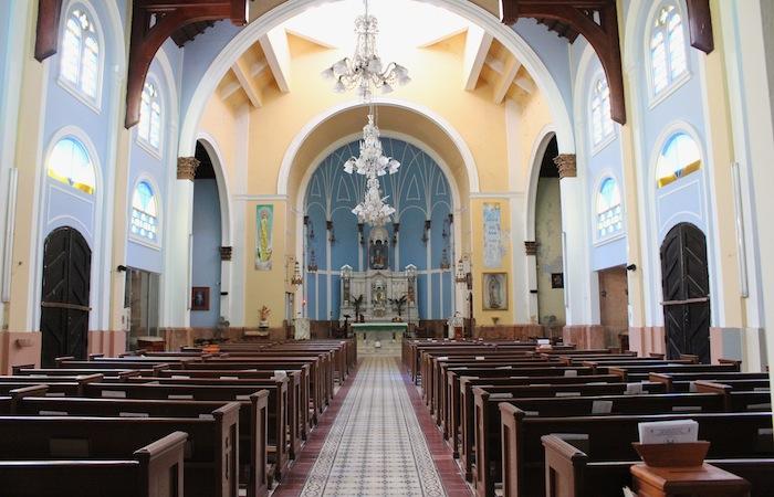 La Iglesia del Pilar en Río Piedras está en reparación desde el año 2012. (Ronald Ávila/Diálogo)
