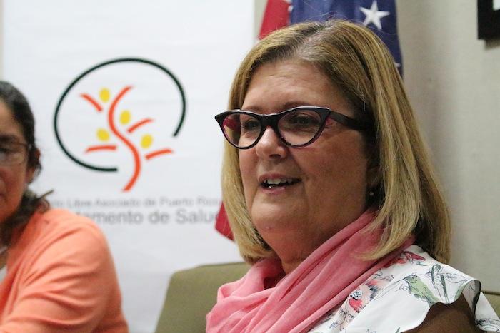 Ana Ríus, secretaria del Departamento de Salud. (Glorimar Velázquez / Diálogo)