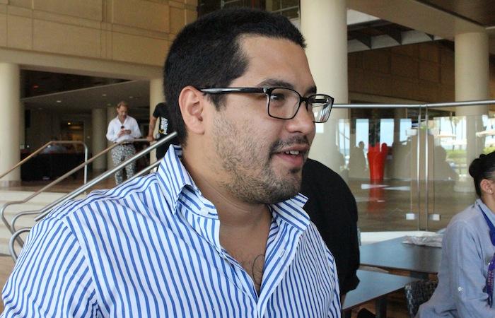 """Dice Óscar: """"El Salvador vive tiempos oscuros"""". (Glorimar Velázquez / Diálogo)"""