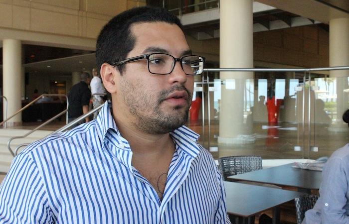 Óscar Martínez, periodista salvadoreño. (Glorimar Velázquez / Diálogo)