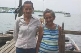 Lucreacia Luciano y su hija Erlyn Barber. (Suministrada)