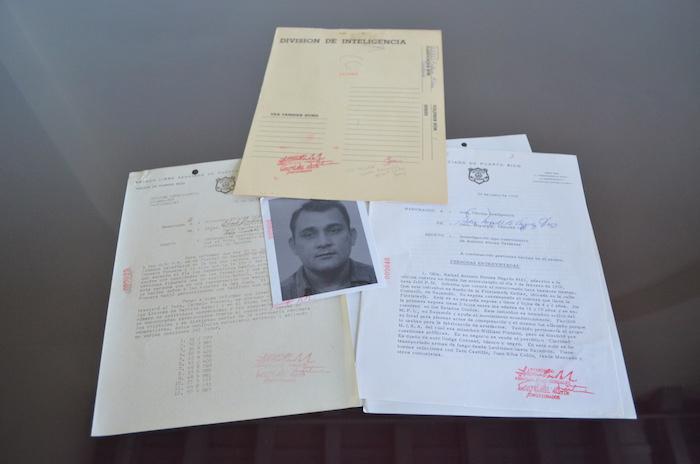 Se informó que estas carpetas pertenecen al grupo de documentos que no fueron reclamados por los perjudicados. (Suministrada)