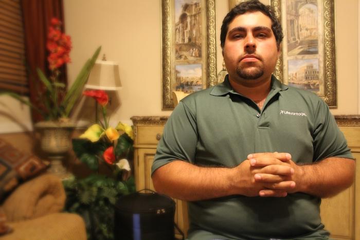 Luis Roberto anhela sentirse como las demás personas. (Omar Rodríguez / Especial para Diálogo)