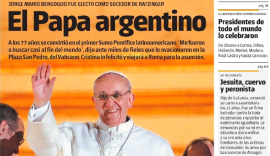 """Ahora no sería """"el Papa Francisco"""", sino """"el papa Francisco"""". (Suministrada)"""