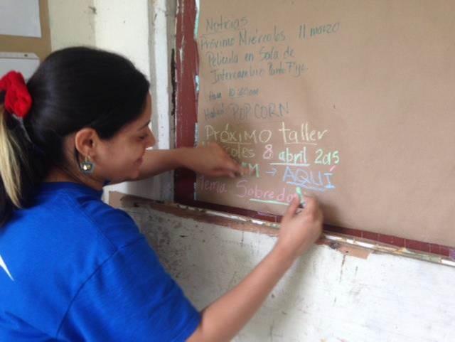 Jessenia Zayas colaboró con ICI para llevar a cabo su proyecto. (Suministrada)