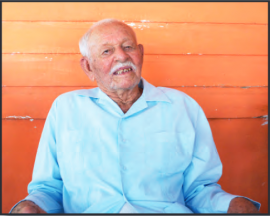 Ricardo pasó gran parte de su vida pescando. (Suministrada)