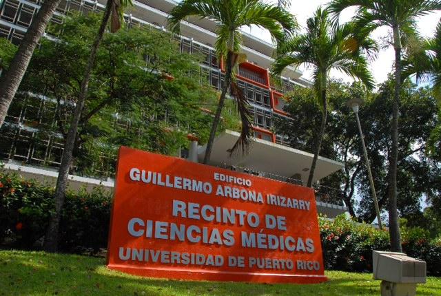 Escuela Médicina del Recinto de Ciencias Médicas. (Suministrada)