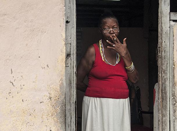 """La imagen, que estuvo expuesta en el Louvre en París, forma parte del proyecto fotográfico """"Las Calles de Mi Caribe"""". (Suministrada)"""