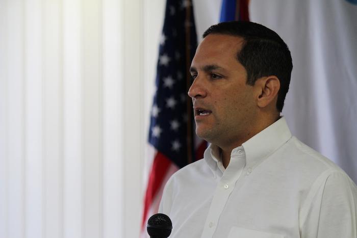 En la foto, el presidente de la Autoridad de Acueductos y Alcantarillados, Alberto M. Lázaro Castro. (Glorimar Velázquez / Diálogo)