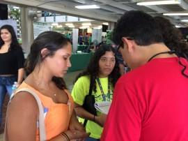 Estudiantes del RUM en entrevista con DIálogo. (Milvia Archilla/ Diálogo)
