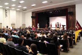 Estudiantes de nuevo ingreso de la UPRH (Suministrada)