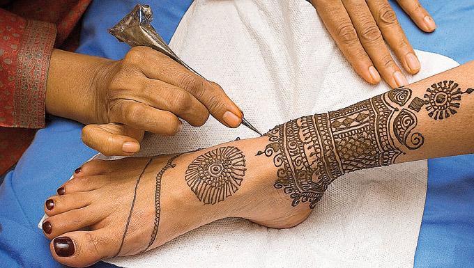 Tatuajes de henna negra. (Suministrada)