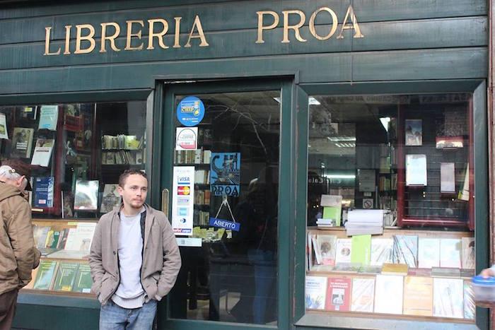 Librería Proa, Santiago de Chile.