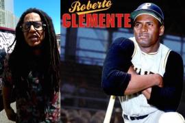 Tego Calderón en homenaje a Roberto Clemente.