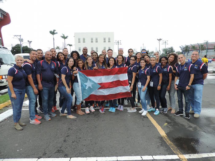 Delegación puertorriqueña Juegos DUCC 2015