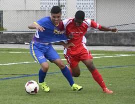 Caribbean University y la UPRRP empataron su encuentro 3-3. (Suministrada)