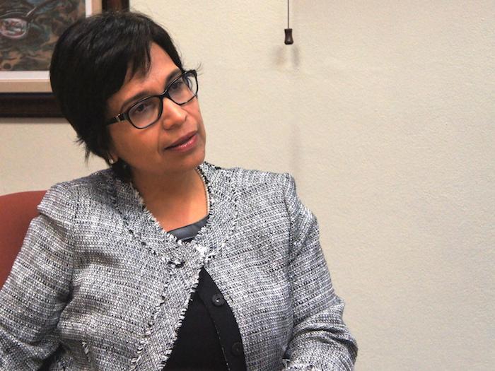 La directora de la Administración de Familias y Niños (ADFAN), Vanessa Pintado, hizo un llamado a los ciudadanos a cuidar por los niños y niñas de Puerto Rico, así como denunciar cualquier señal de maltrato a un menor que observe en la comunidad. (Estefanía M. Montañez / Diálogo)