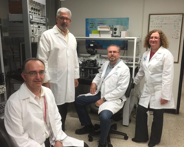 Dr. Tugrul Giray, Dr. Mark Miller, Dr. Carlos Jimenez, Dr. Annabell Segarra. (Suministrada)