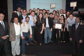 Equipo de estudiantes del Departamento de Ingenieria Mecanica del Recinto Universitario de Mayaguez