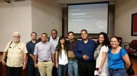 Estudiantes que participan de la revista Espacialidades. (Suministrada)