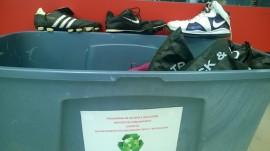 Iniciativa Reclaje de calzado.  (Suministrada)deportivo