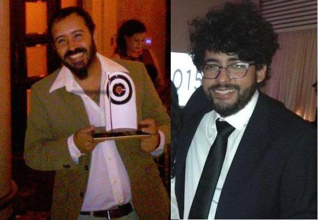 Hermes Ayala y Juan Carlos Castillo.