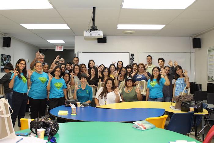Los participantes del taller de Basura Cero. (Suministrada/Sheyla E. Hernández)