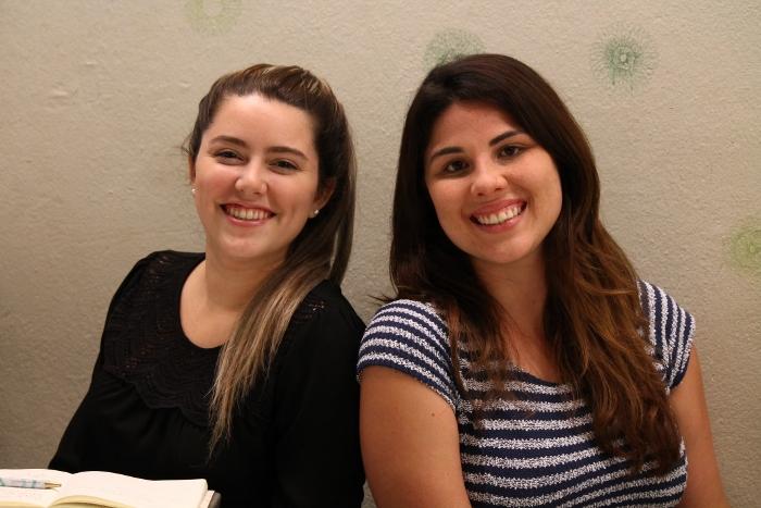Adriana Estades y Kathy Muiz, miembros del Puerto Rican Barista Team. (Diálogo)