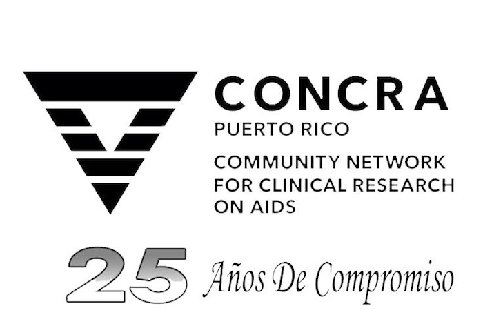 Logo de los 25 años de PR CoNCRA. (suministrada)