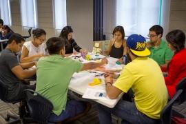 Estudiantes del RUM en el Weekend Design Challenge. (Suministrada)