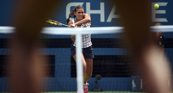 Mónica Puig, US Open 2015 (USTA/Andrew Ong)