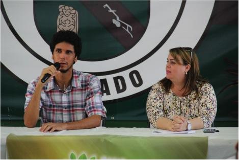 Prof. Freddie Pérez y Dra. Jessica Romero (Suministrada)