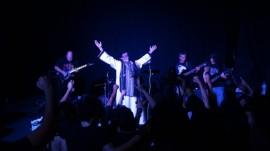 La banda Dantesco, en la foto, participó en el documental por sus posturas críticas hacia la religión. (Suministrada)