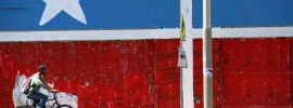 La bandera de Lares, bordada por Mariana Bracetti ha sido ícono del movimiento desde entonces. (Suministrada)