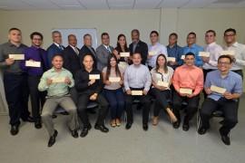 Xerox otorgó 16 becas de Excelencia y Enriquecimiento Académico. Carlos Díaz/Prensa RUM